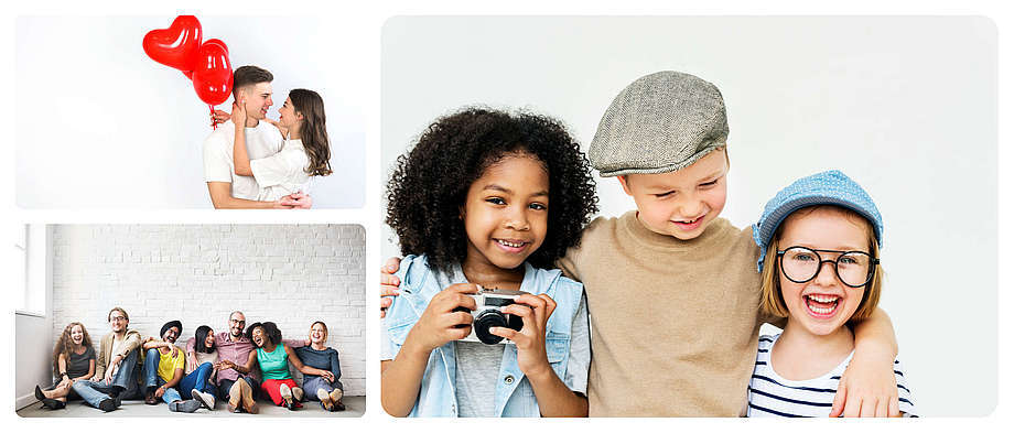 Photo collage puzzles with ease