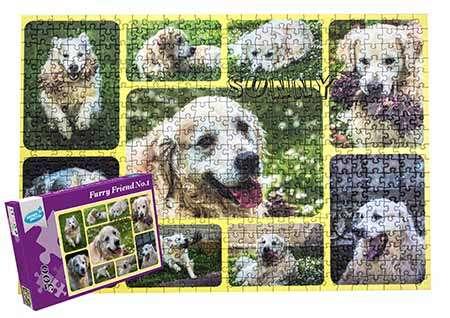 Photo Collage Puzzle 500 pieces