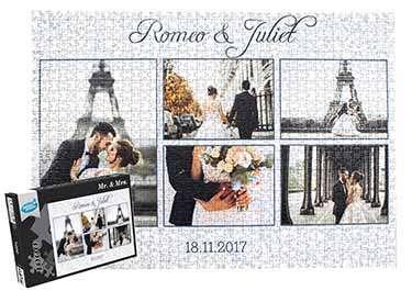 Photo Collage Puzzle 1000 pieces
