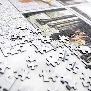 Photo Collage Puzzle 1000 pieces - $ 39.99