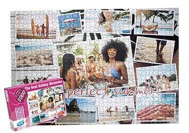 Photo Collage Puzzle 2000 pieces