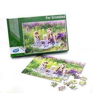 Custom Puzzle 100 pieces - 8.5 x 12 in